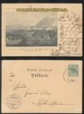 Gedenkfeier der Erhabung Schleswig-Holsteins sw-AK Erstürmung Friedrichstadt 1898 (d7072)