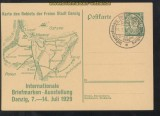 Danzig Mi # GSK P 46 internationale Briefmarkenausstellung Sonderstempel (43744)