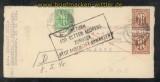 Bi-Zone AM-Post Mi # 3 und 2 x # 22 auf Kriegsgefangenenbrief Hannover 12.2.1946 (43681)