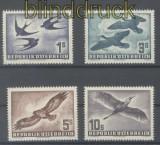 Österreich Mi # 984/87 postfrisch Vögel (43707)