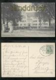AURICH sw-AK Kgl. Gymnasium Bahnpost 1910  (d7078)