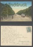 Danzig farb-AK Grosse Allee 1915 (d7103)