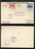 Memel mit Reich Mi # 688 und S 256 R-Brief Dreverna 22.3.1939  (44065)