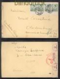 Jugoslawien Mi # 395 (4) MeF Auslands-Zensur-Brief Apace 21.7.1940 nach Oldenburg (44125)