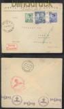 Jugoslawien MiF Auslands-Zensur-Eil-Brief Zagreb 13.11.1940 nach Wien (44126)