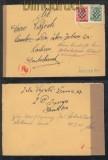 Kroatien Mi # 11 und 12 auf Auslands-Zensur-Brief 1941 nach Löbau (44136)