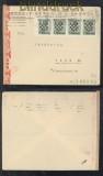 Kroatien Mi #  11 (4) auf Auslands-Zensur-Brief Zagreb 9.10.1941 (44139)