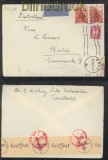 Norwegen Auslands-LuPo-Zensur-Brief Oslo 27.7.1942 (44146)