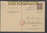 all. Besetzung Gebühr bezahlt Zerpenschleuse 8.10.1946 Postkarte (44194)