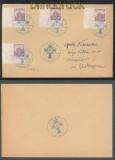 Böhmen und Mähren Mi #  27 (4) alle mit Pl.-Nr. SSt. Iglau 13.5.1941 (43193)