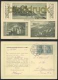 ASSMANNSHAUSEN sw-AK drei Ansichten 1914 (d7062)