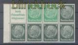 dt. Reich Heftchenblatt Mi # 99.1 B Hindenburg 1940/41 postfrisch (44395)