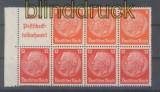dt. Reich Heftchenblatt Mi # 100 B Hindenburg 1940/41 postfrisch (44396)