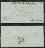 Vorphila-Briefhülle aus Tirschtiegel nach Meseritz Ritter von Zychlinski (44509)