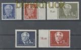 DDR Mi #  251/55 postfrisch Präsident Wilhelm Pieck (I) (44438)