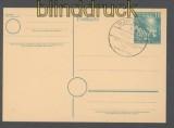 Bund Ganzsachenkarte  P So 1  mit Sonderstempel SSt. (44475)