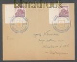 Böhmen und Mähren Mi #  27 (2) mit Pl.-Nr. 3 und 3 A MeF Sonderstempel 1941 (43195)