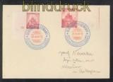 Böhmen und Mähren Mi #  28 mit Pl.-Nr. 2 A und # 30 LW MiF Slatinian 1941 (43196)