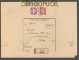 Böhmen und Mähren Dienst Mi #  7 + 11 MiF auf Dienst-R-Brief Prag 29.5.1941 (43281)
