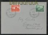 dt. Reich Mi # 748/49 auf Ersttagsbrief SSt. Eupen 25.7.1940 (43084)