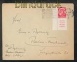 dt. Reich Zusammendrucke Mi # S 104 EF auf Fernbrief Baden-Baden 1934 (43090)