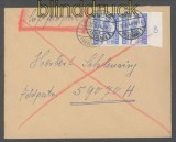 dt. Reich Feldpost 2. WK Luftpost-Feldpostbrief FP # 59070 Organisation Todt 1945 (43099)