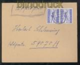 dt. Reich Feldpost 2. WK Luftpost-Feldpostbrief FP # 59070 Organisation Todt 1945 (43098)