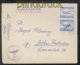 dt. Reich Feldpost 2. WK Luftpost-Feldpostbrief FP # 59070 Organisation Todt 1945 (43100)