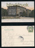 BAD KISSINGEN farb-AK Hofrat von Balling´s Haus 1905 (d7204)