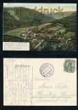 TRESEBURG i. H. farb-AK Totalansicht 1906 (d7269)