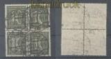 dt. Reich Mi # 159 b gestempelter 4er-Block Fotoattest Weinbuch BPP (44629)