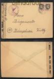 franz. Zone Mi #  6 MeF (2)  Zensurbrief Ludwigshafen 1946 (44625)