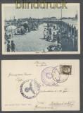 Italien Mi #  305 Auslands-Zensur-Drucksachen-Ansichtskarte Fano 1940 (44662)