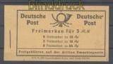 all. Besetzung Markenheftchen Mi # 50 postfrisch (44767)