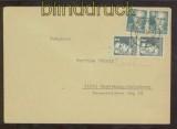 SBZ Mi # 212 III in MiF auf Fernbrief Grimma 1950 (44704)