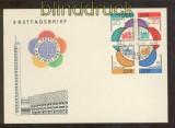 DDR Mi #  901/04 4er-Block Ersttagsbrief FDC Sonderstempel SSt. (44719)