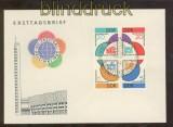 DDR Mi #  901/04 4er-Block Ersttagsbrief FDC Sonderstempel SSt. (44720)