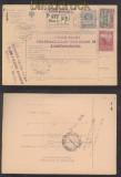 Österreich Mi # 151 z und 154 z auf Auslands-Paketkarte nach Constantinopel 1916 (44748)