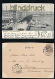 HAMBURG sw-AK Alter Jungfernstieg 1901 (d7157)