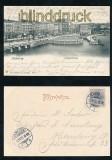 HAMBURG sw-AK Jungfernstieg 1901 (d7158)