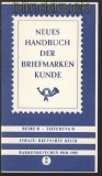 Handbuch der Briefmarkenkunde Deutsches Reich 5 Hefte 1910 bis 1945 (70089)