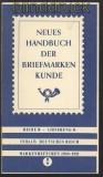 Handbuch der Briefmarkenkunde Deutsches Reich 5 Hefte 1910 bis 1945 (70090)