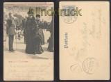 HAMBURG farb-Präge-AK Gruss aus ..... Wappen Hamburg 1901 (d7334)