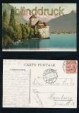 Chillon et la Dent du Midi farb-AK 1907 (a2143)
