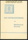 Georg Albert: Die Postbriefstempel von Mecklenburg-Schwerin 1966 (70056)