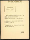 Handbuch der ungarischen Vorphilatelie dreisprachig (70061)