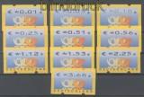 Bund ATM 2002 Mi # 4.1 Versandstellensatz 1 komplett postfrisch (45227)