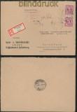 Bi-Zone AM-Post Teilbar Dossenheim 15.12.1945 (45209)