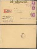 Bi-Zone AM-Post Teilbar Hettingen 7.10.1945 (45211)