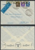 Italien Auslands-LuPo-Zensur-Brief Marostica 1940 Deutsche Zensur (44923)